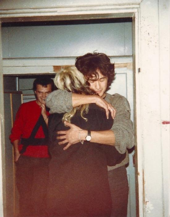 Константин Кинчев, Джоанна Стингрей и Виктор Цой. 1980-е.