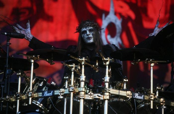 Джои Джордисон - барабанщик группы Slipknot.