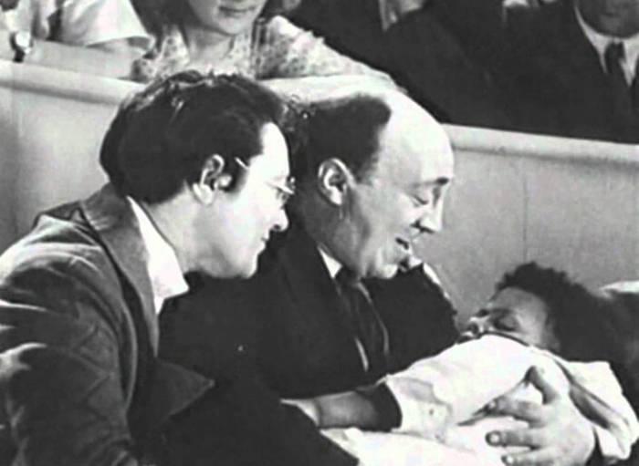 Кадр из культового советского фильма «Цирк»