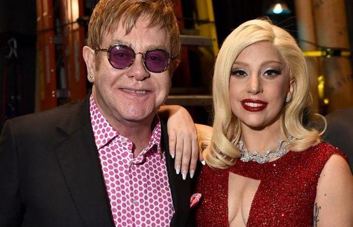 Элтон Джон и Леди Гага. ¦ Фото: gaganewslady.jmp.io
