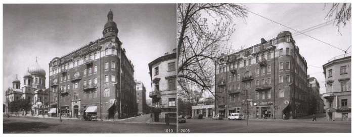 Введенский собор и Доходный дом (Загородный проспект).