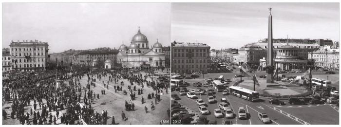 Знаменская площадь (Площадь Восстания).