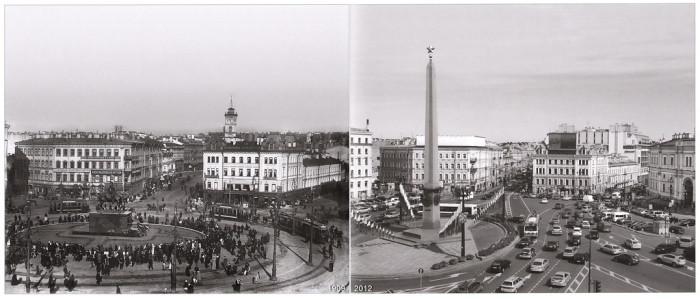 Знаменская площадь (Площадь Восстания) ракурс 2 .