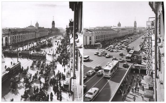 Большой Гостиный двор на Невском 35.