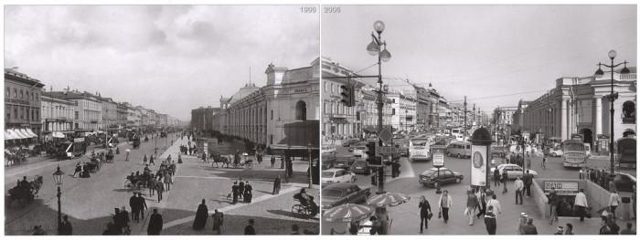 Невский проспект. Вид с Городской думы.