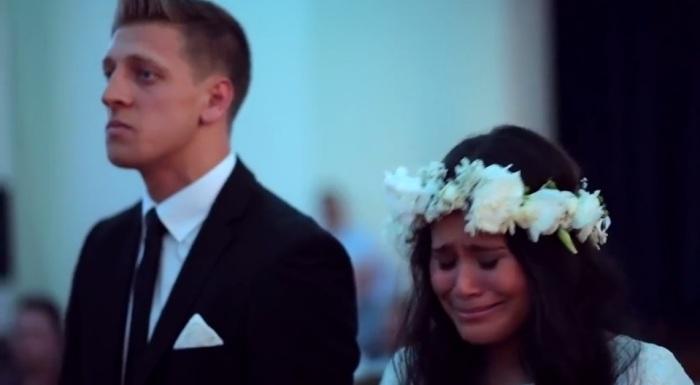 Свадьба суровых новозеландских регбистов.
