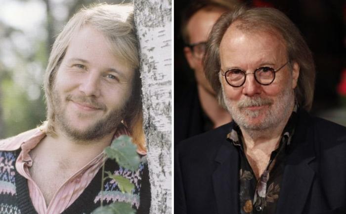 Бенни Андерссон тогда и сейчас | Фото: worldi.ru
