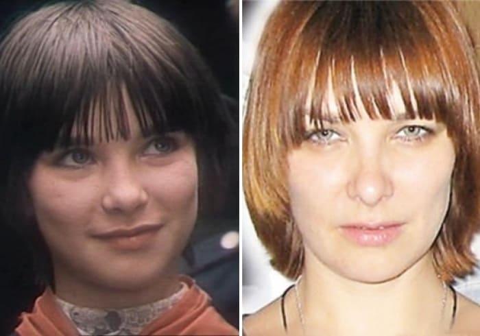 Наталья Шанаева тогда и сейчас | Фото: trinixy.ru и kino-teatr.ru