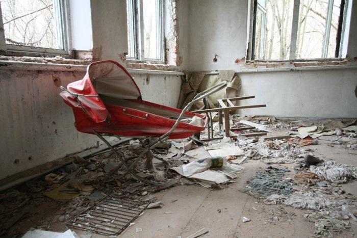 Покинутые дома Припяти