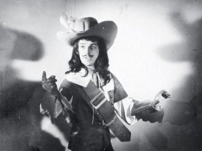 Фотопроба Абдулова на роль д'Артаньяна | Фото: nnm2.com