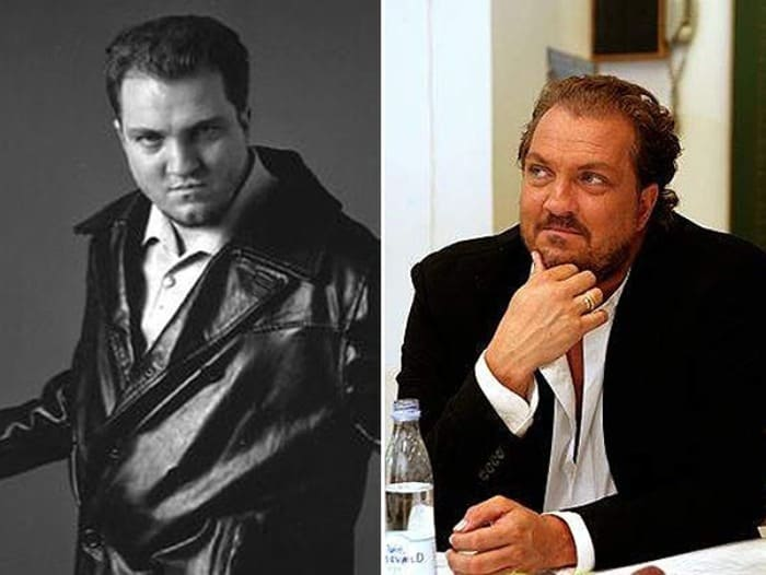 Йонас Берггрен в 1990-х и в 2000-х гг. | Фото: spletnik.ru