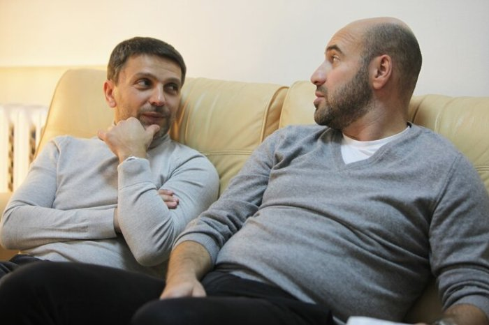 Леонид Барац и Ростислав Хаит | Фото: m24.ru