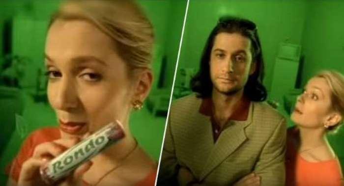 Мария Порошина в рекламе мятных конфет | Фото: peoples.ru