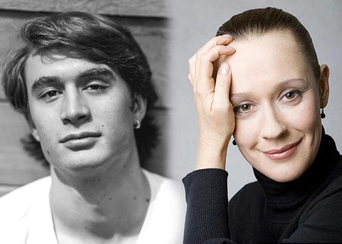 Актриса Евгения Дмитриева и ее второй муж, актер Владимир Киммельман   Фото: stuki-druki.com