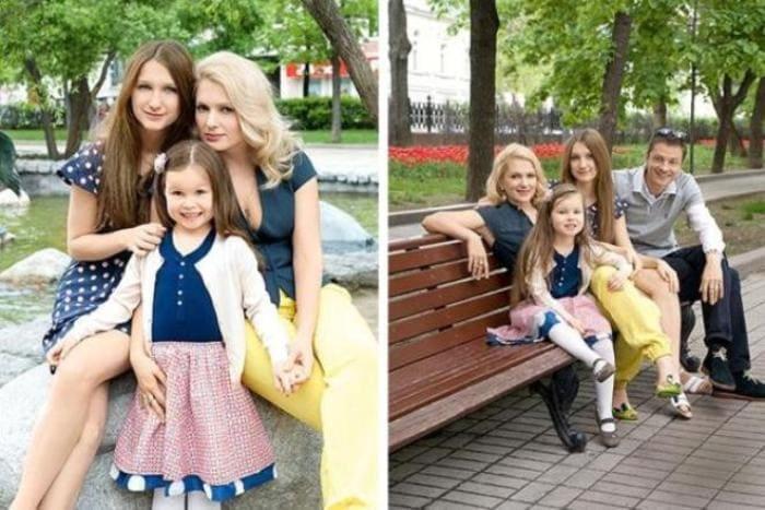 Мария Порошина и Илья Древнов с детьми | Фото: 24smi.org