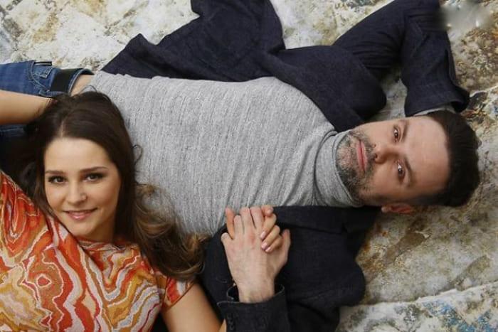 Глафира Тарханова с мужем, актером Алексеем Фаддеевым | Фото: 24smi.org