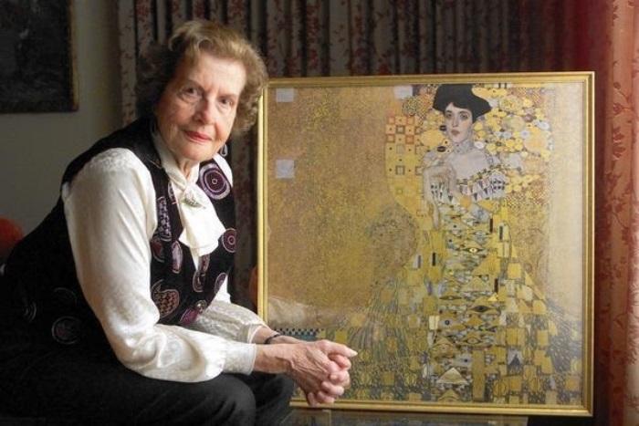 Мария Альтман и знаменитый портрет ее тети Адели | Фото: static.dramastyle.com