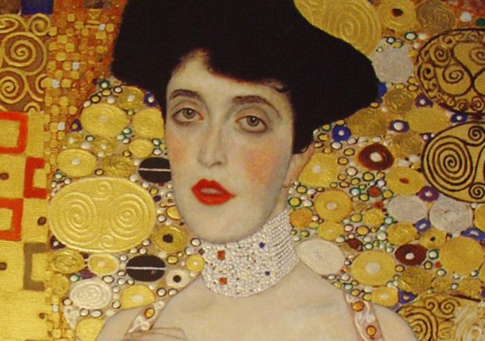 Г. Климт. Портрет Адели Блох-Бауэр I, 1907. Фрагмент | Фото: lisimg.com