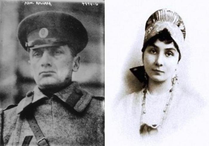 Адмирал Колчак и Анна Тимирева