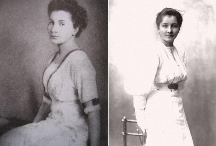 Гражданская жена Колчака Анна Тимирева