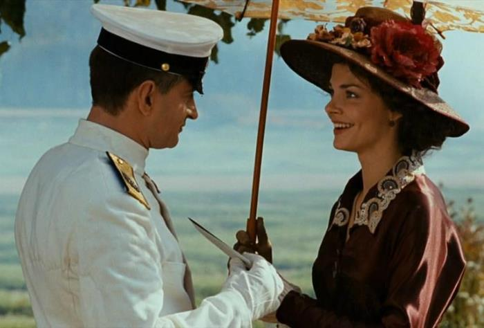 Кадр из фильма *Адмиралъ*, 2008