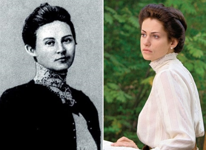 Софья Федоровна Омирова-Колчак, законная жена адмирала, в жизни и в кино