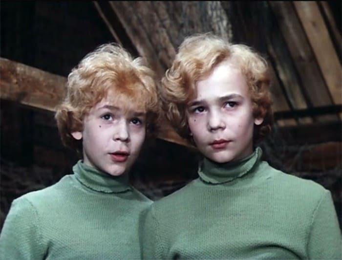 Братья Торсуевы в фильме *Приключения Электроника*, 1979 | Фото: biographe.ru