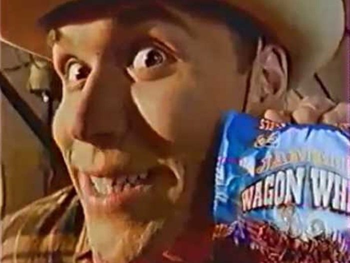 Максим Аверин в рекламе 1990-х гг. | Фото: dayonline.ru