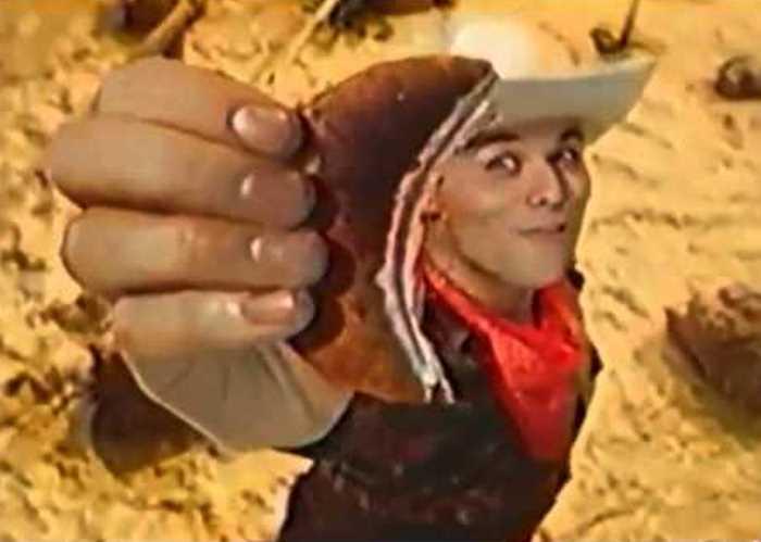 Максим Аверин в рекламе 1990-х гг. | Фото: gnti.ru