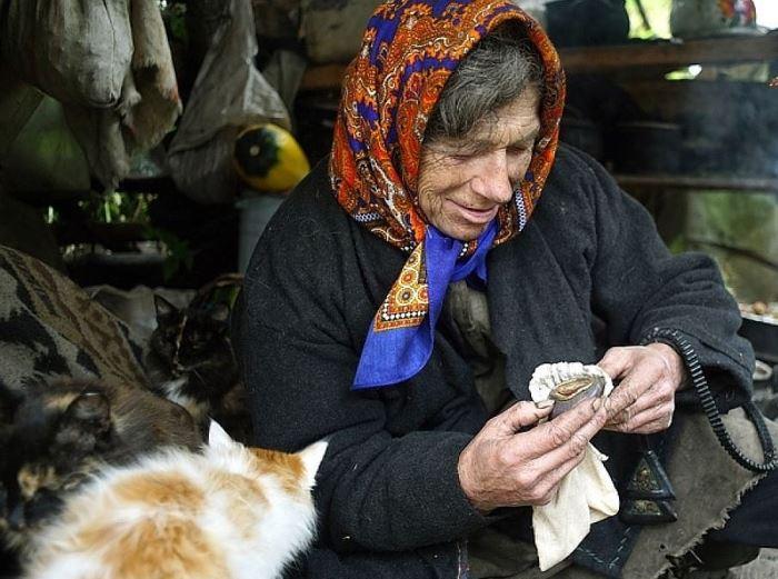 Отшельница, которая отказывается переезжать из тайги к людям. Фото Н. Щербакова | Фото: kp.ru