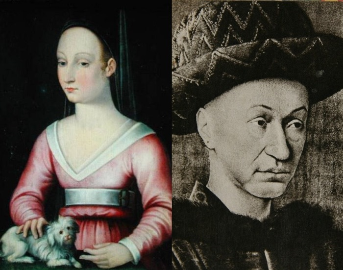 Агнесса Сорель и Карл VII