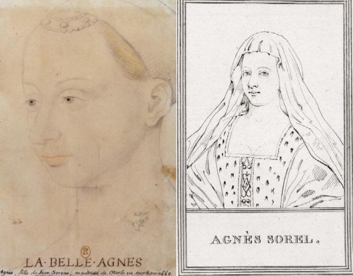 Любовница французского короля Агнесса Сорель