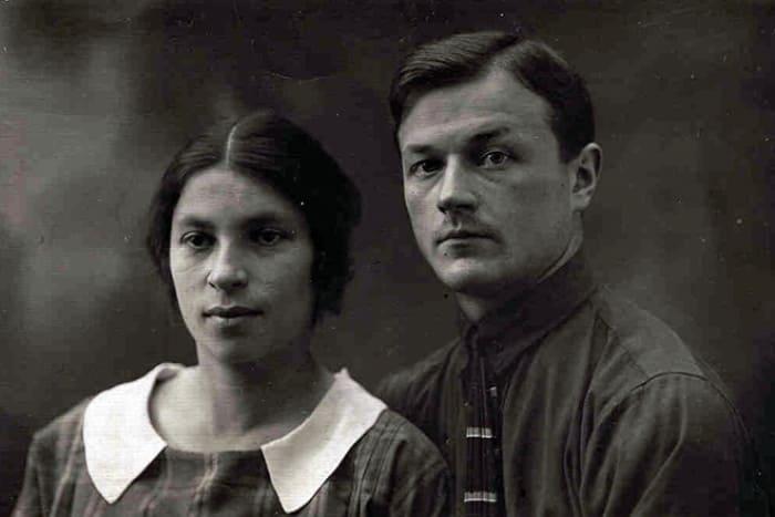 Писательница с мужем, Павлом Барто | Фото: bartofamily.org