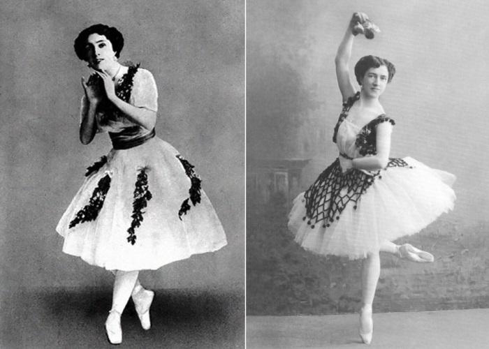 Танцовщица, которую называли *царицей вариаций* | Фото: gallery-mt.narod.ru и vaganovaacademy.ru