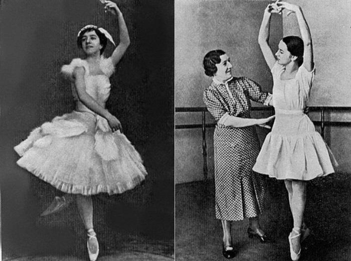 Агриппина Ваганова – танцовщица и педагог | Фото: dudinskaya-ballet.narod.ru и chtoby-pomnili.com