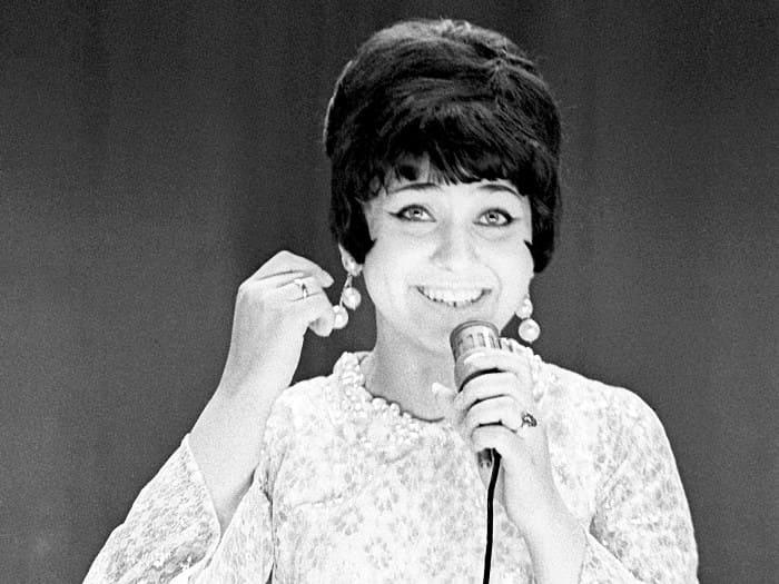 Артистка на сцене, 1972   Фото: eg.ru