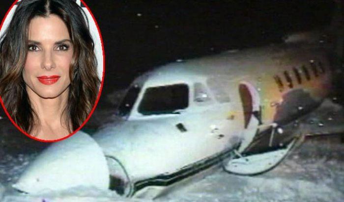 Тот самый самолет, на котором летела актриса | Фото: uznayvse.ru