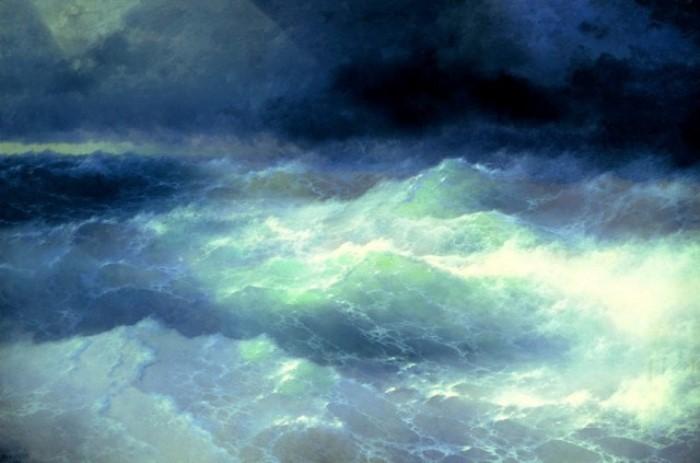 И. Айвазовский. Среди волн, 1898 | Фото: art-portrets.ru