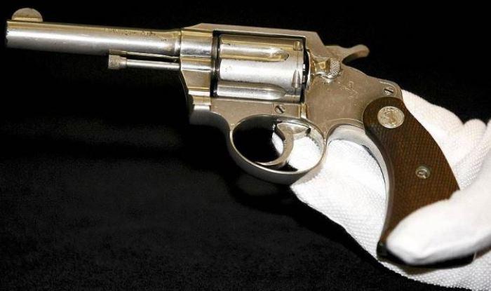 Револьвер Аль Капоне, недавно проданный на аукционе за 110 000 долларов
