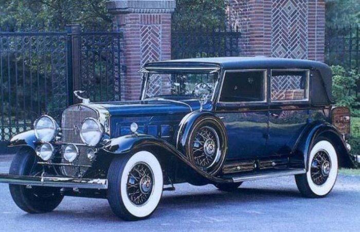Пуленепробиваемый кадиллак Аль Капоне был конфискован и позже стал автомобилем Рузвельта