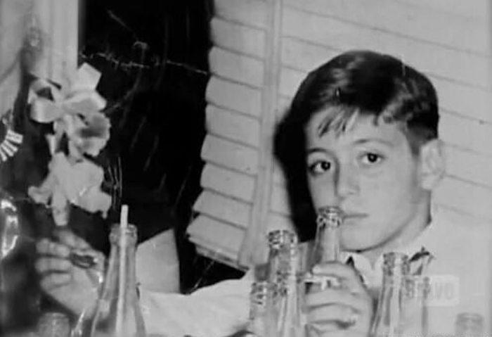 Актер в детстве | Фото: trendy-u.com
