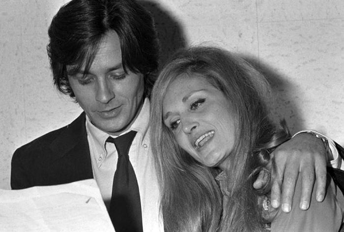 Ален Делон и певица Далида, с которой его связывали романтические отношения | Фото: kp.ru