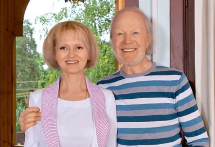 Актер с третьей женой | Фото: 24smi.org