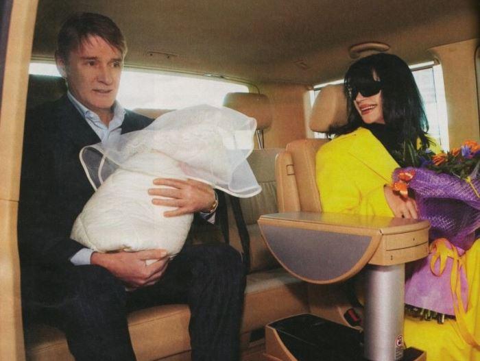 Александр Абдулов с женой и дочерью, 2007   Фото: kinopoisk.ru