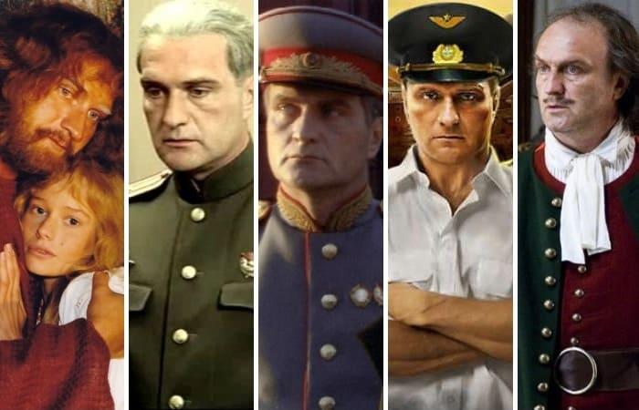 Самые яркие кинообразы Александра Балуева | Фото: grimov.ru, domkino.tv, 24smi.org, kino-teatr.ru