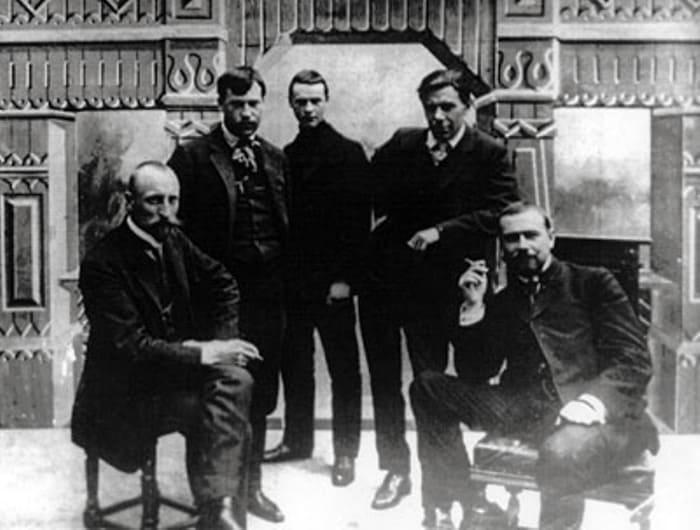Александр Ханжонков – первый справа | Фото: ksovd.org