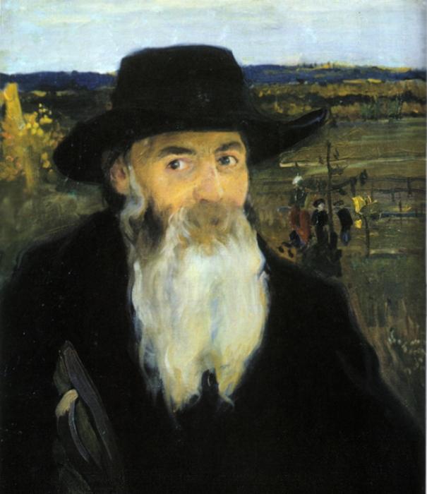 *Старый учитель. Портрет Николая Мурашко*, 1906