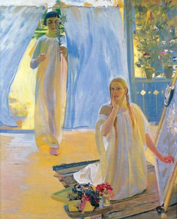 Александр Мурашко. Благовещение, 1909