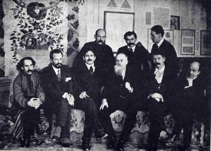 Девять основателей Украинской академии искусств
