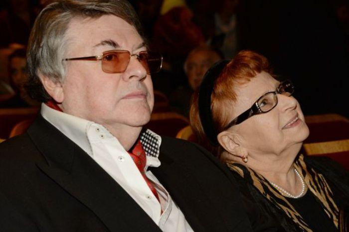 Александр Ширвиндт с женой, 2014 | Фото: aif.ru